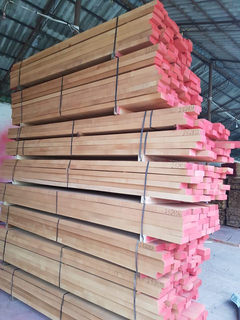 high quality European beech timber