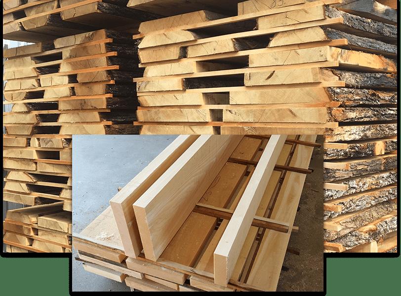 high quality European white oak timber